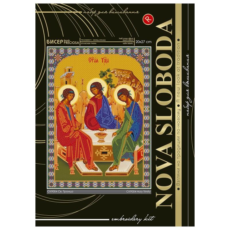 """Nova Sloboda - Набiр для вишивання iкони """"Богородиця «Св. Троїця»"""" / фото №2286"""