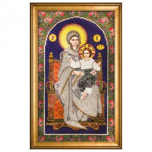 """Набор для вышивки иконы """"Богородица на Престоле"""""""