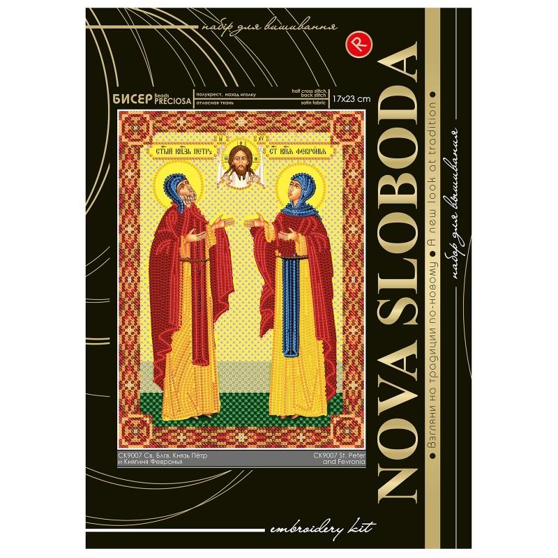 """Nova Sloboda - Набiр для вишивання iкони """"Свв. Блгвв. Князь Петро і Княгиня Февронія»"""" / фото №2292"""