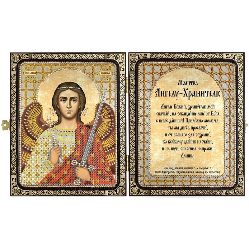"""Набор для вышивки иконы в рамке-складне """"Св. Ангел Хранитель"""""""