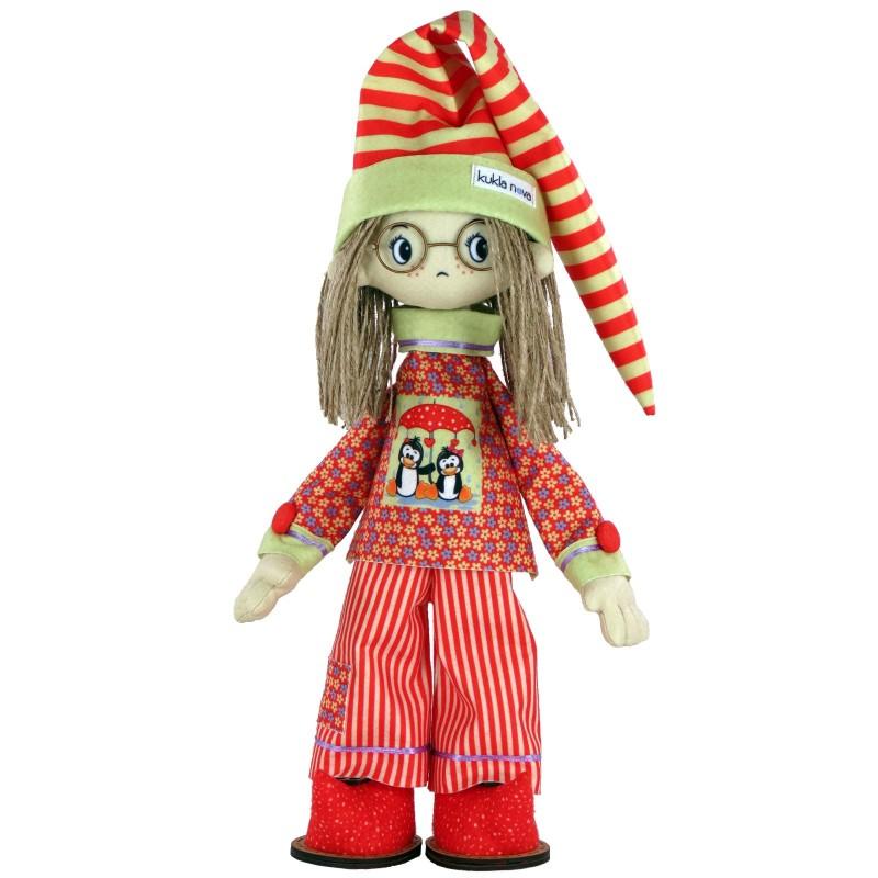 """Nova Sloboda - Набір для шиття інтер'єрної каркасної ляльки """"Бонифацій"""" / фото №2507"""