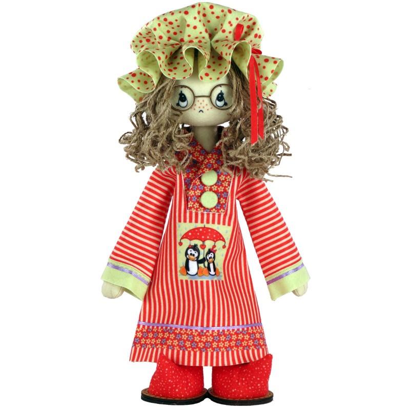 """Nova Sloboda - Набір для шиття інтер'єрної каркасної ляльки """"Сюзанна"""" / фото №2511"""