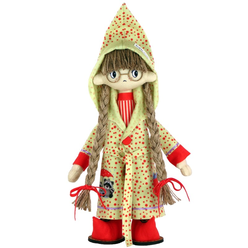 """Nova Sloboda - Набор для шитья каркасной интерьерной куклы """"Джесика"""" / фото №2515"""