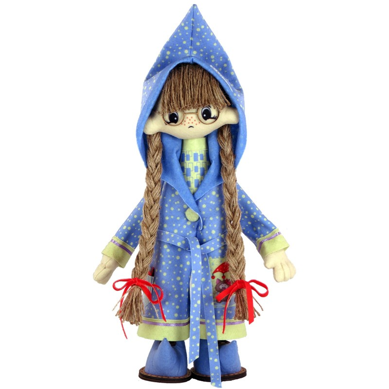 """Nova Sloboda - Набір для шиття інтер'єрної каркасної ляльки """"Віолетта"""" / фото №2517"""