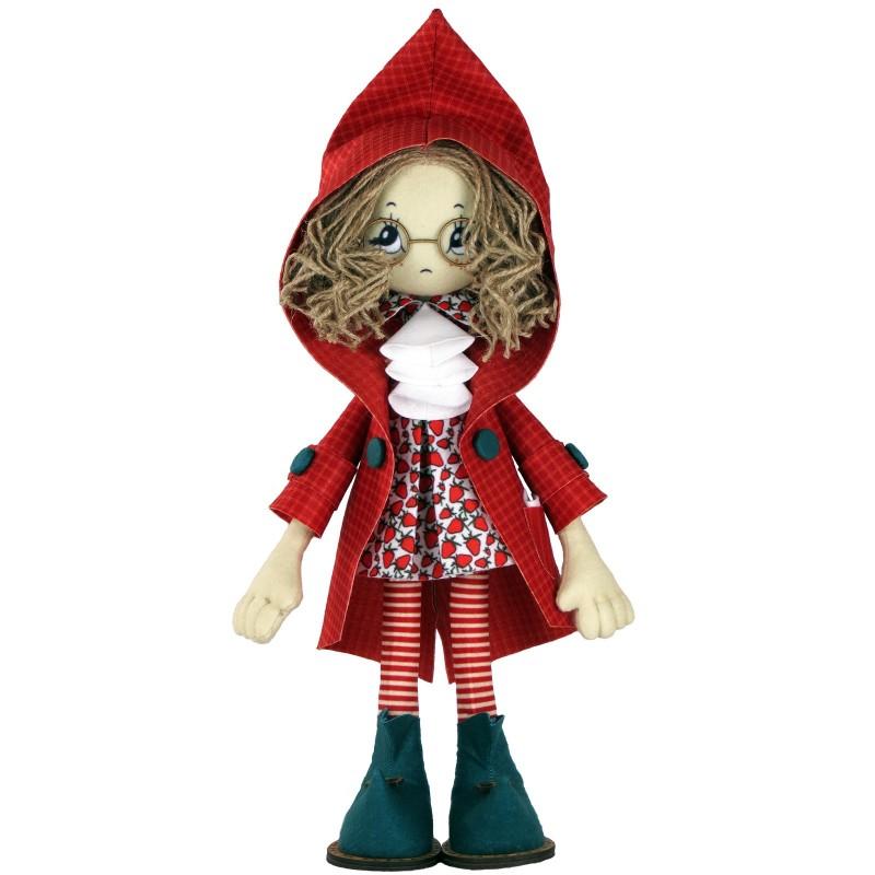 """Nova Sloboda - Набір для шиття інтер'єрної каркасної ляльки """"Ніколь"""" / фото №2523"""