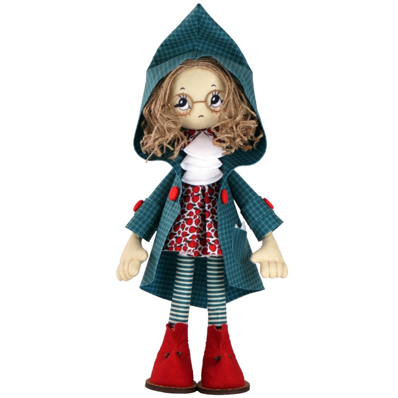 """Nova Sloboda - Набір для шиття інтер'єрної каркасної ляльки """"Мішель"""" / фото №2525"""
