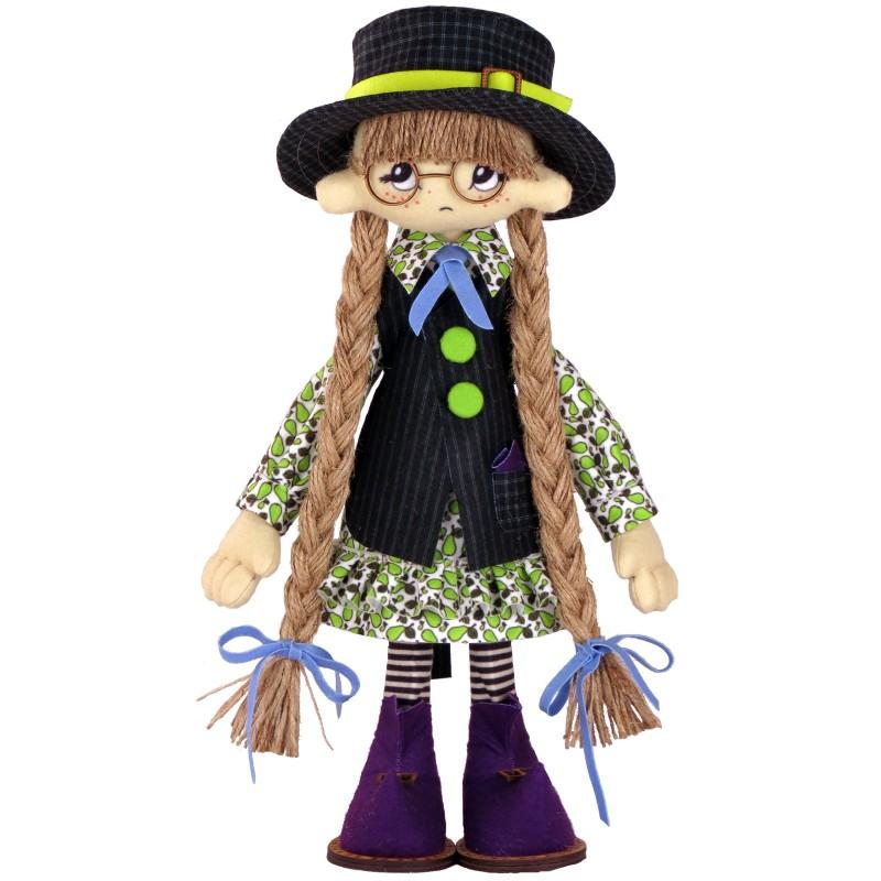 """Набір для шиття інтер'єрної каркасної ляльки """"Пауліна"""""""