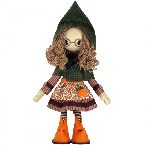 """Набір для шиття інтер'єрної каркасної ляльки """"Шарлотта"""""""