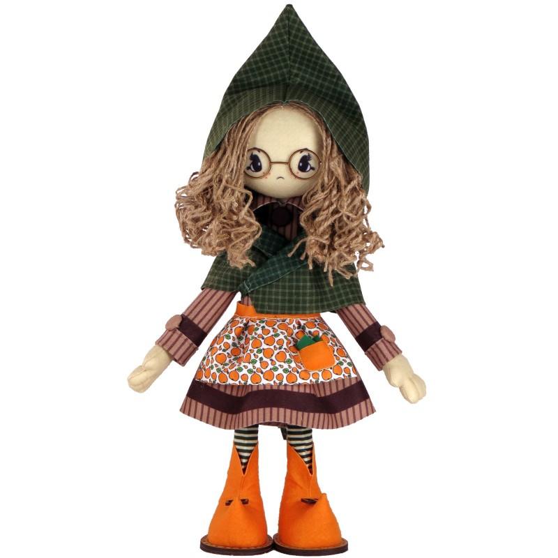 """Набор для шитья каркасной интерьерной куклы """"Шарлотта"""""""