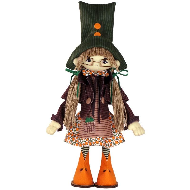 """Набор для шитья каркасной интерьерной куклы """"Гертруда"""""""