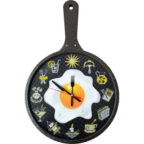"""Набір для створення годинника з вишитою основою """"Час готувати!"""""""
