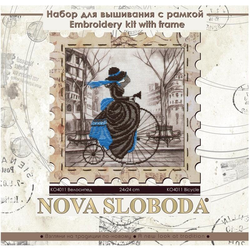 """Nova Sloboda - Набір для креативного рукоділля """"Велосипед"""" / фото №2765"""