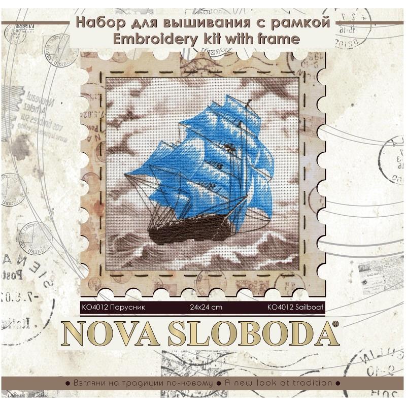 "Nova Sloboda - Набор для креативного рукоделия ""Парусник"" / фото №2772"