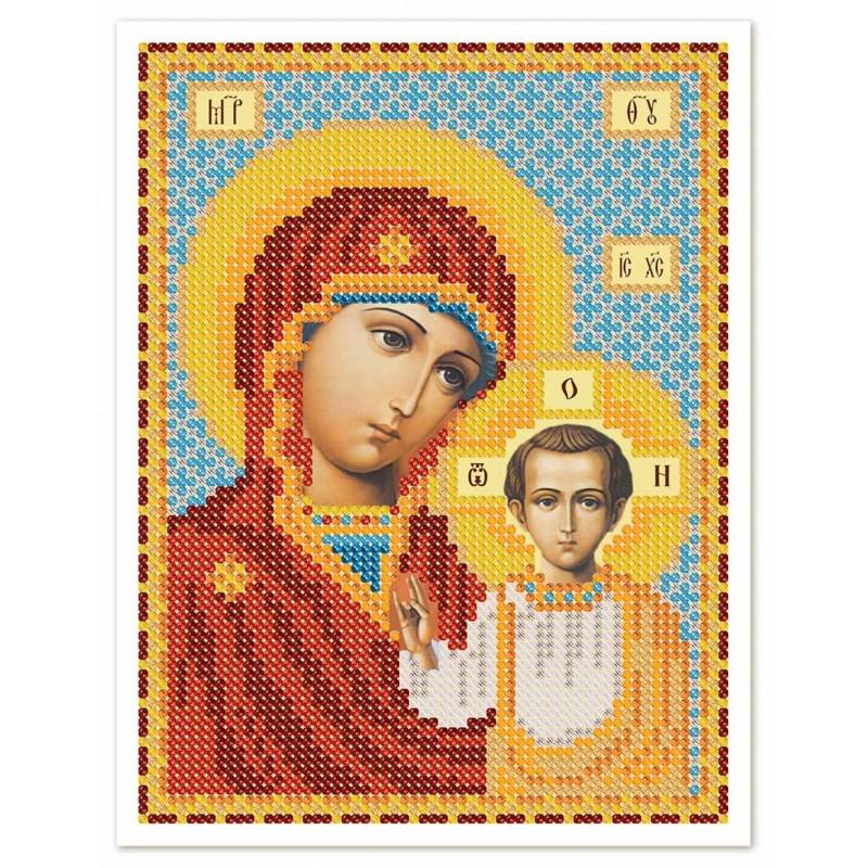 """Nova Sloboda - Тканина зi схемою для вишивки ікони бiсером """"Христос Спаситель"""" / фото №2979"""