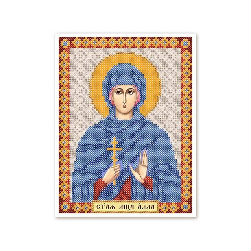 """Nova Sloboda - Тканина зi схемою для вишивки ікони бiсером """"Христос Спаситель"""" / фото №2982"""