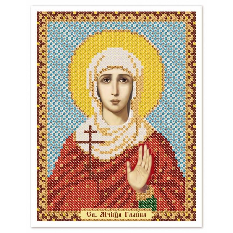 """Nova Sloboda - Ткань со схемой для вышивки иконы бисером """"Христос Спаситель"""" / фото №2995"""