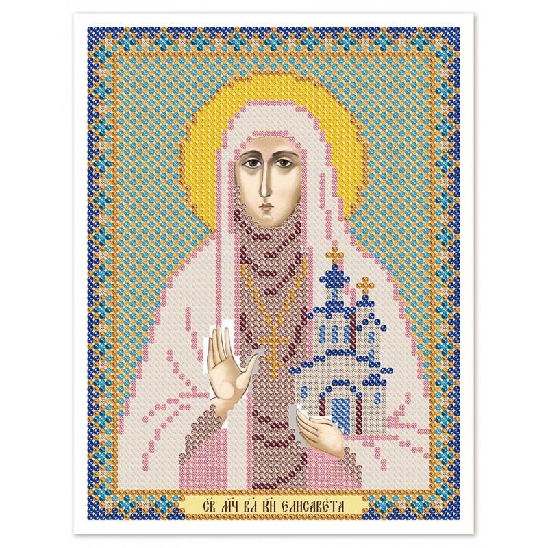 """Nova Sloboda - Ткань со схемой для вышивки иконы бисером """"Христос Спаситель"""" / фото №3012"""