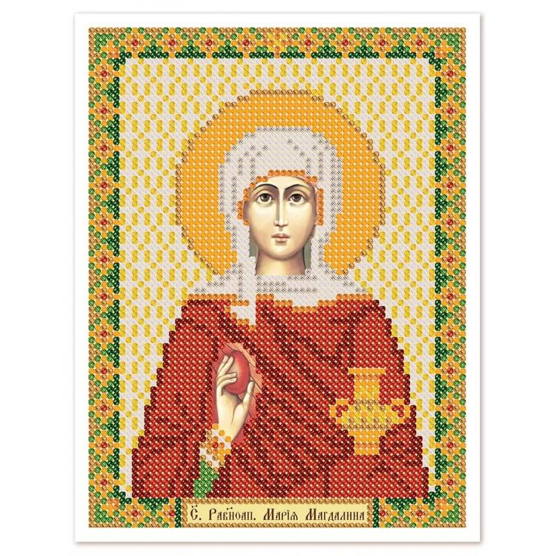 """Nova Sloboda - Тканина зi схемою для вишивки ікони бiсером """"Христос Спаситель"""" / фото №3036"""