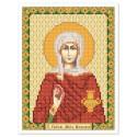"""Тканина зi схемою для вишивки ікони бiсером """"Св. Рівноап. Марія Магдалина"""""""