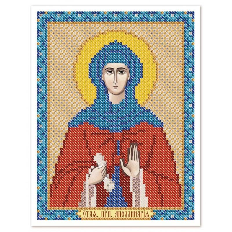 """Nova Sloboda - Тканина зi схемою для вишивки ікони бiсером """"Христос Спаситель"""" / фото №3058"""
