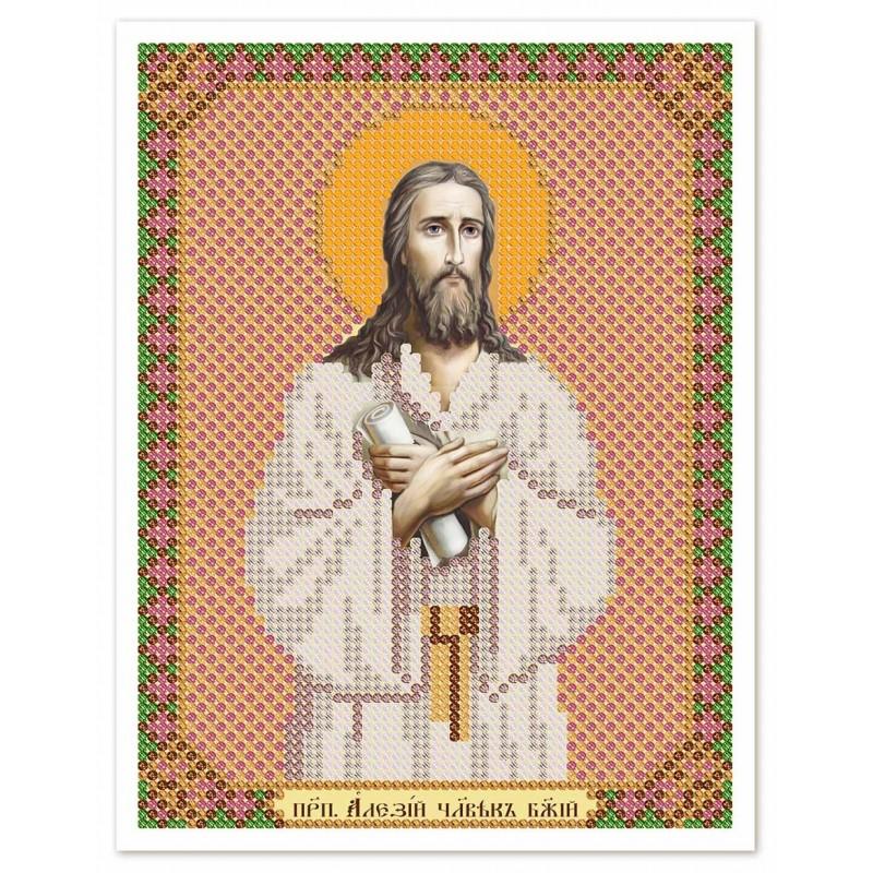 """Nova Sloboda - Тканина зi схемою для вишивки ікони бiсером """"Христос Спаситель"""" / фото №3068"""