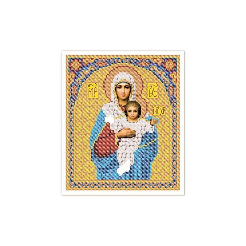 Nova Sloboda - Тканина зi схемою для вишивки ікони бiсером