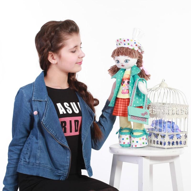 """Nova Sloboda - Набiр для шиття ляльки на льняній основі - Текстильна лялька """"Іменинниця"""" / фото №3362"""