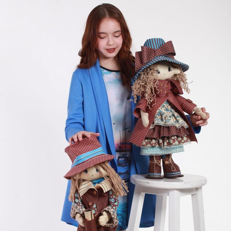 """Nova Sloboda - Набір для шиття інтер'єрної каркасної ляльки """"Роберт"""" / фото №3366"""