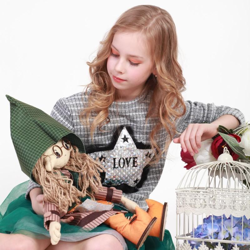 """Nova Sloboda - Набор для шитья каркасной интерьерной куклы """"Шарлотта"""" / фото №3367"""