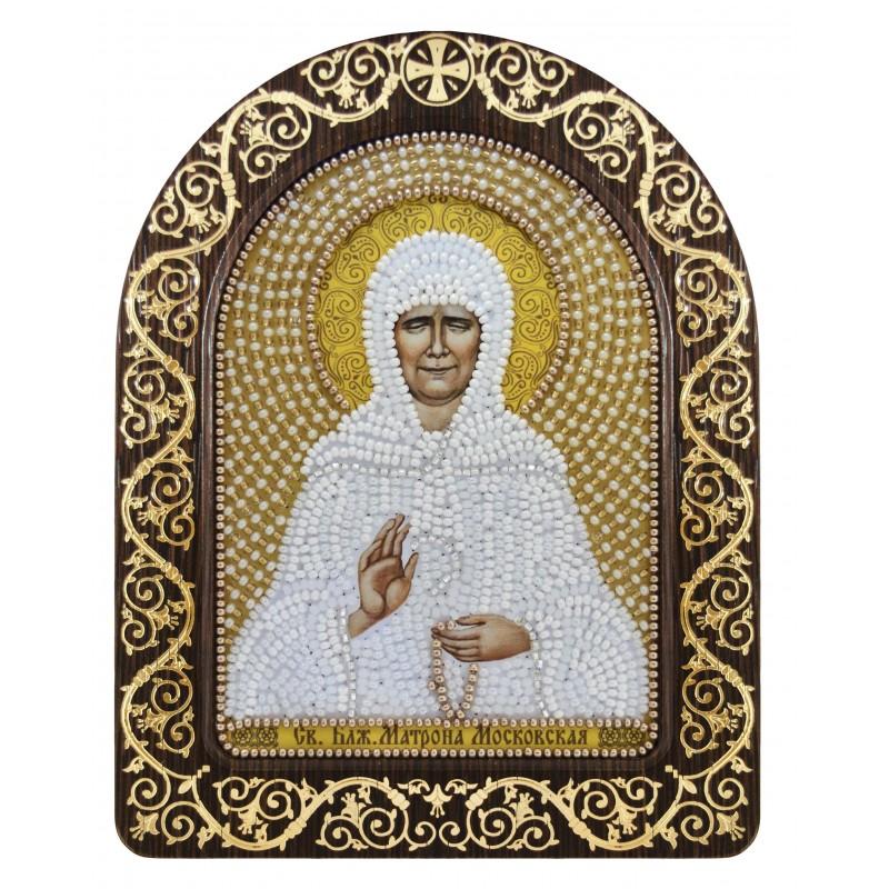 """Nova Sloboda - набір для вишивки ікони в рамці-кіоті """"Св. Блж. Матрона Московська"""" / фото №3378"""