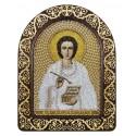 """Набор для вышивки икон в рамке-киоте """"Св. Вмч. Целитель Пантелеимон"""""""