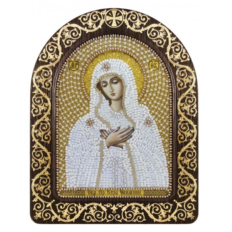 """Nova Sloboda - набір для вишивки ікони в рамці-кіоті """"Ікона Прсв. Богородиці «Богородиця «Розчулення» / фото №3382"""