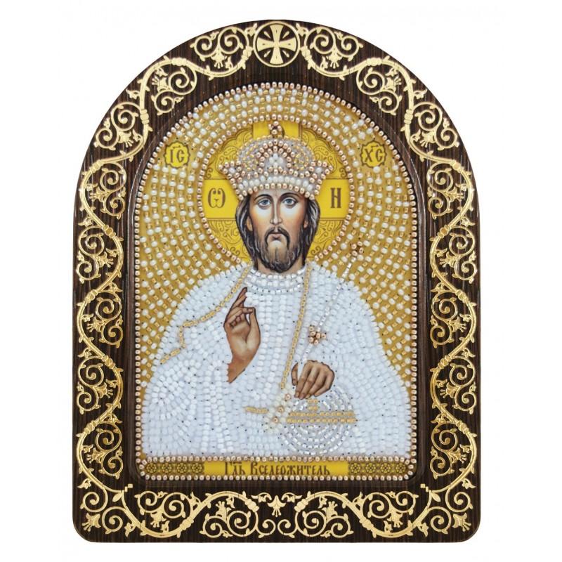 """Nova Sloboda - Набір для вишивки ікони в рамці-кіоті """"Господь Вседержитель"""" / фото №3393"""