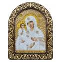 Набір для вишивки ікони в рамці-кіоті Богородиця «Троєручиця»