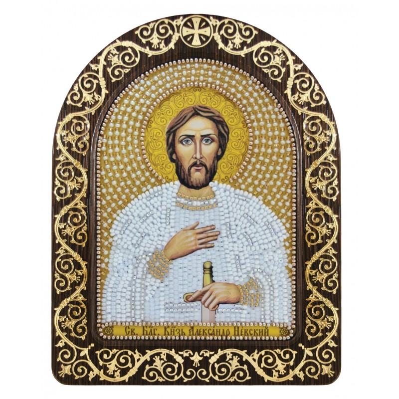 """Набір для вишивки ікони в рамці-кіоті """"Св. Блгв. Великий Князь Олександр Невський"""""""