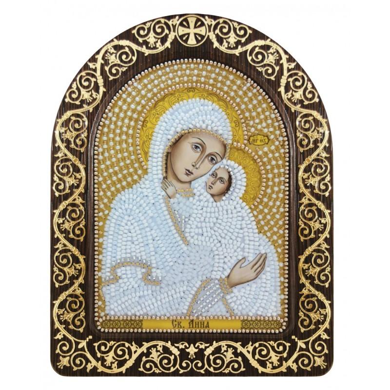 Nova Sloboda - набір для вишивки ікони в рамці-кіоті «Св. Анна з Марією-немовлям» / фото №3411