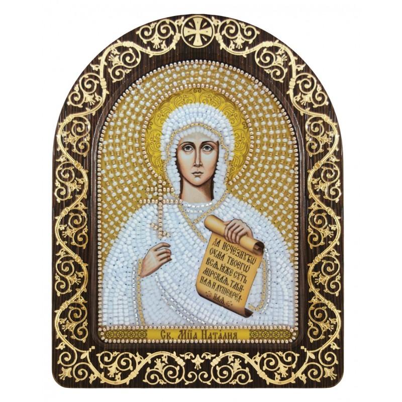 """Nova Sloboda - Набір для вишивки ікони в рамці-кіоті """"Св. Мц. Наталія Никомидійська"""" / фото №3413"""