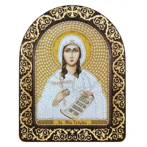 """Набір для вишивки ікони в рамці-кіоті """"Св. Мц. Тетяна(Татіана) Римська"""""""