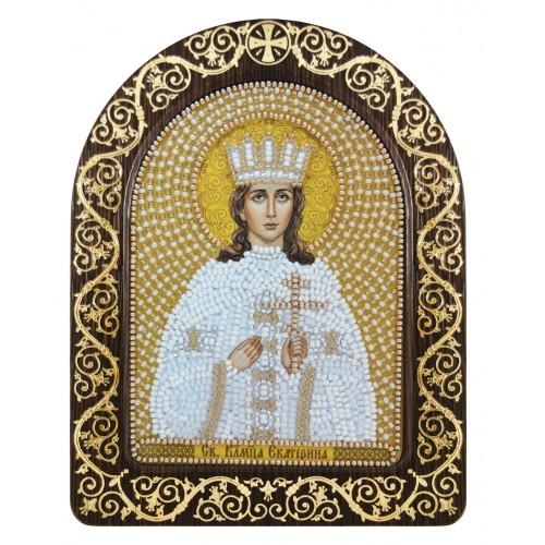 """Набір для вишивки ікони в рамці-кіоті """"Св. Вмц. Катерина Олександрійська"""""""