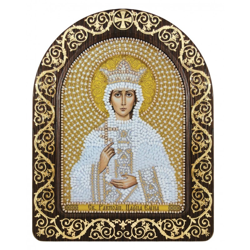 """Набір для вишивки ікони в рамці-кіоті """"Св. Равноап. Цариця Олена"""""""