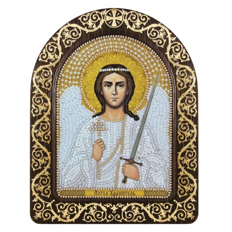 """Nova Sloboda - набір для вишивки ікони в рамці-кіоті """"Ангел Хранитель"""" / фото №3437"""