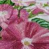 """Тканина зi схемою для вишивки бiсером """"Іпомея рожева"""""""