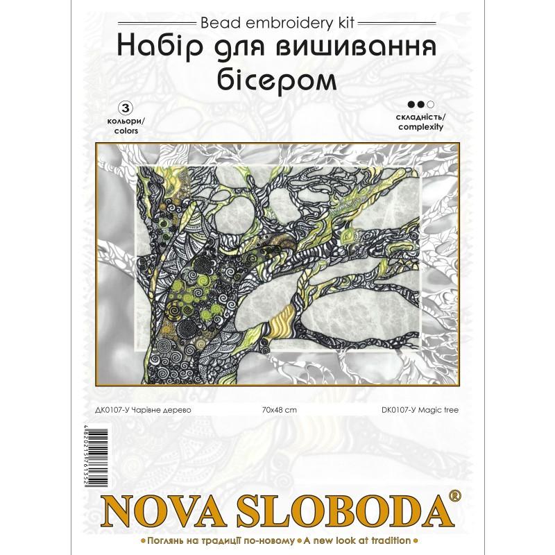 """Nova Sloboda - Набір для вишивки бісером """"Чарівне дерево"""" / фото №3466"""