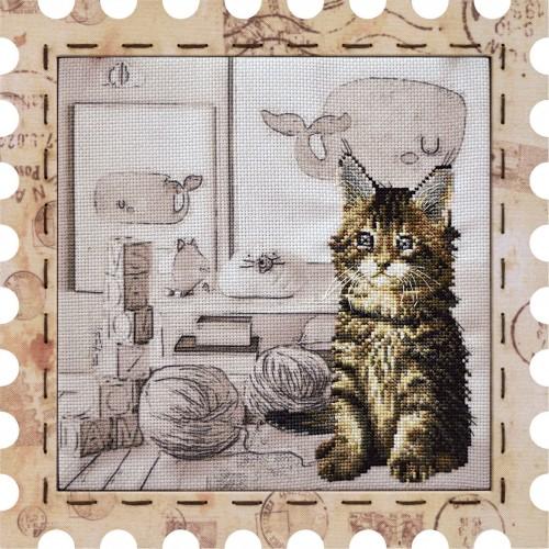 """Набір для креативного рукоділля """"Коте. Малюк"""""""