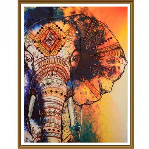 """Набор для вышивки бисером """"Слон"""""""