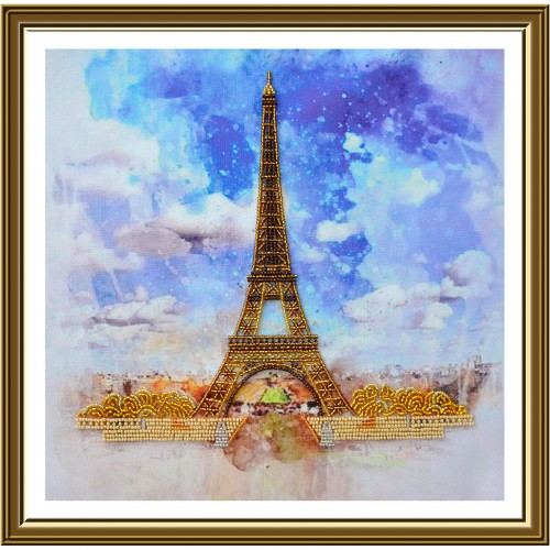 "Набор для вышивки бисером ""Символ Парижа"""