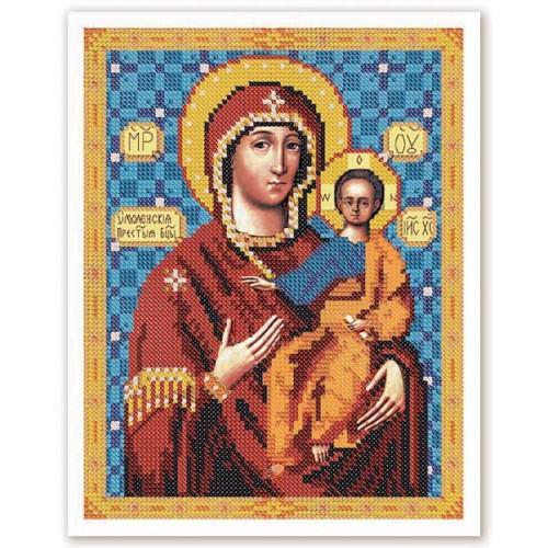 """Набор для вышивки иконы бисером """"Богородица Смоленская"""""""