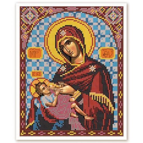"""Набор для вышивки иконы бисером """"Богородица Богородица """"Млекопитательница"""""""""""