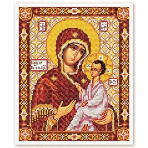 """Набор для вышивки иконы бисером """"Богородица Тихвинская"""""""