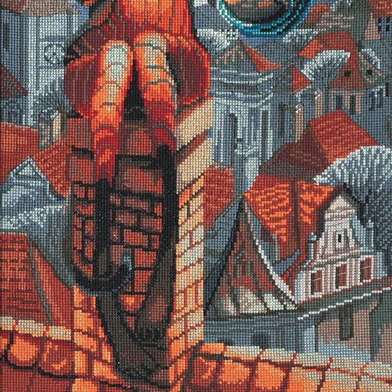 """Nova Sloboda - Набір для вишивки нитками на канві з фоновим зображенням """"Мильні бульбашки"""" / фото №379"""